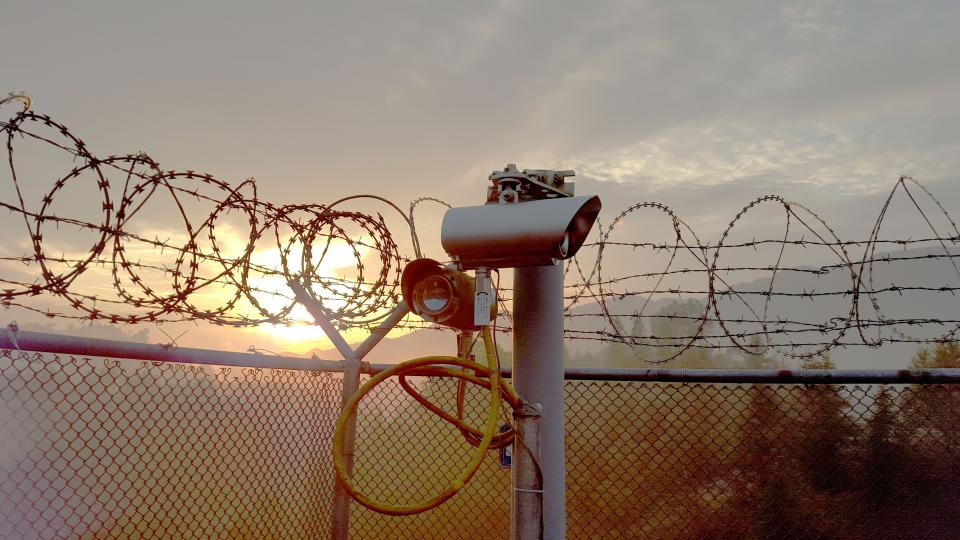 Sensient Fence Line